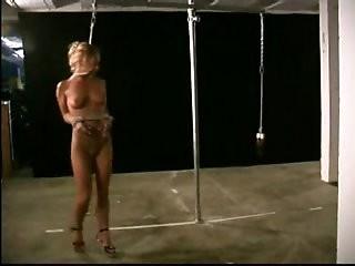 Slave Livia extreme restraints bondage training
