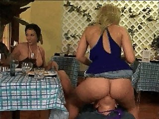 Feet ass pussy worship femdom