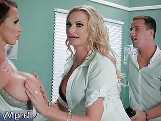 Sex Tape With Doctor And Horrny Patient Briana Banks Nikki Benz vid