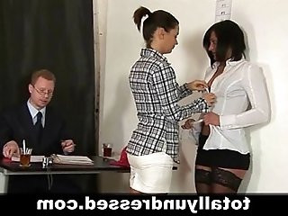 Secretarys hardcore job interview