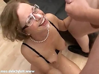 Anal strapon Fuck with Mother in Law