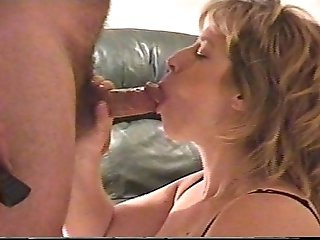 Blonde Orgasms While Taking Facial
