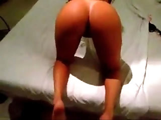 Naked big butt latina getting a good fuck doggystyle