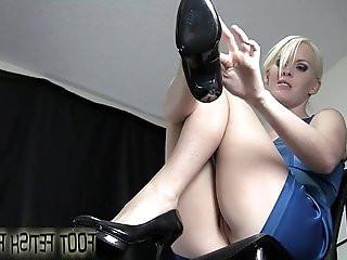 Lick between my toes you little foot freak