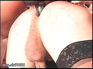 German group action where BBW slut get