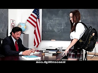 InnocentHigh School Girl Desperate For Teachers Cock
