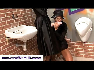 Cum drenched babes at gloryhole