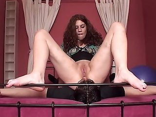 Analingus Femdom male slave licking his mistress