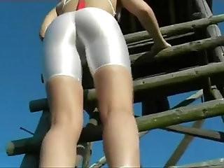 White Shorts Full